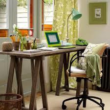 lovely feminine home office decorating ideas white black seat for