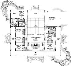 Ranch Style Mansions by Awesome U Shaped Home Plans Throughout Ranch Style House Plans