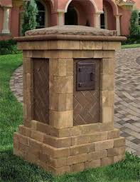 Best 25 Stone Columns Ideas by High Security Locking Mailbox In Stone Column Home Pinterest