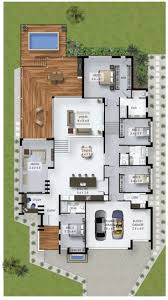 best ideas about split level house plans pinterest sims floor plan friday bedroom home with study nook and triple car garage