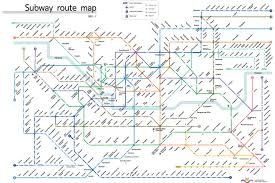 Boston Metro Map by Korean Subway Map My Blog