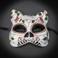 day of the dead masks gatto cat day of the dead mask dia de los muertos masquerade