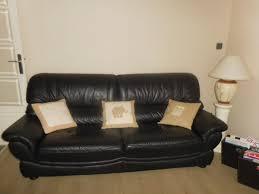 canapé neuf achetez superbe canape cuir quasi neuf annonce vente à athis mons