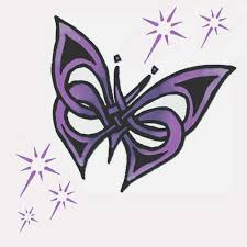 great celtic butterfly