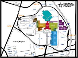 Louisville Map Kentucky Exposition Center U2014 Visitors