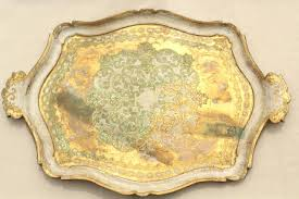 painted serving platters vintage florentine gilt wood serving tray ornate carved tray w