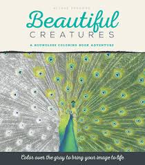 amazon com beautiful creatures a grayscale coloring book
