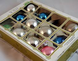 mercury glass ornaments etsy