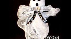 dollar tree diy halloween ghost for five dollars or less youtube