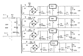 power supplies ac dc multi output supply circuit schematic