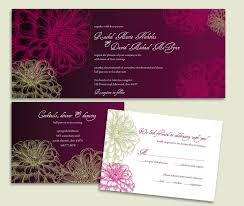 Wedding Invitation Acceptance Card Wedding Invitations On Behance