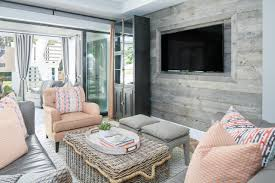 Reclaimed Wood Paneling One Bedroom Wall Effortlessly Mix Patterns And Prints With These Expert Tips