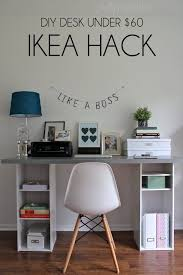 Bedroom Office Desk Cool 25 Best Images About Ikea Desk On Pinterest Desks Ikea