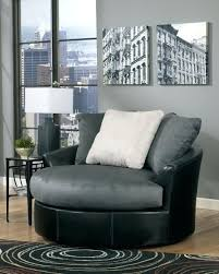Oversized Swivel Accent Chair Oversized Swivel Accent Chair Cobblestone Faux Leather Fabric