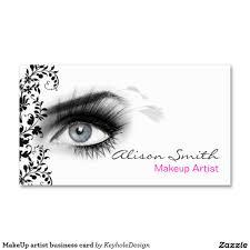 makeup artist sketchbook makeup artist business card pinteres