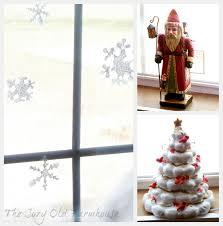 Christmas Windows Decorations Spray The Cozy Old