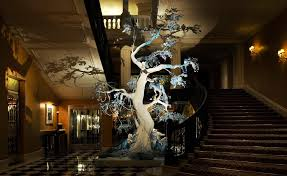 a look back at claridge s trees and their special guest