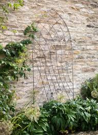barrington arch trellis raw metal garden trading