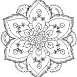 flower coloring pictures printable free printable coloring