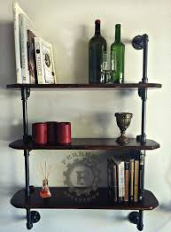 amazon com steampunk furniture pipe bookshelf bookshelves