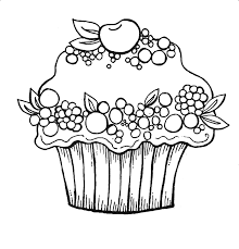 birthday cake printable az coloring pages
