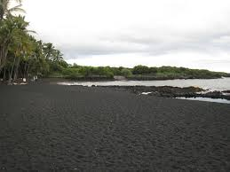 Black Sand Beaches Maui by Black Sand Beach Good Black Sand Beach Isla De Vieques Puerto