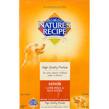 nature u0027s recipe senior lamb u0026 rice formula dog food petco