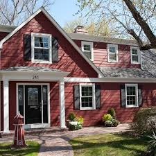 Black Front Door Ideas Pictures Remodel And Decor by Best 25 Red House Exteriors Ideas On Pinterest House Exterior