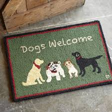Unique Doormats Dogs Welcome Doormat Robert Redford U0027s Sundance Catalog