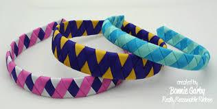 woven ribbon make time 2 craft woven ribbon headband tutorial hair