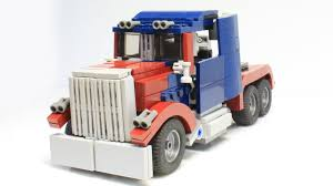 lego jurassic park jeep wrangler instructions how to build a lego transformers optimus prime it transforms