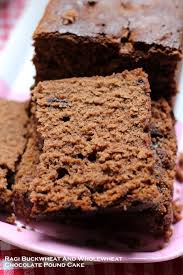 ragi buckwheat and wholewheat chocolate pound cake recipe the