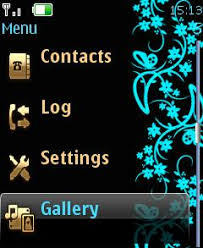 microsoft themes for nokia c2 01 free turquoisea clock mobile cell phone themes for nokia c3 01 touch