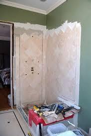 Building A Shower Bench Shower Bench Block Vs Frame Ceramic Tile Advice Forums John