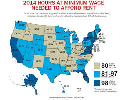 World Of Work Map by Report It Takes A 73 Hour Work Week To Pay Rent On Idaho U0027s