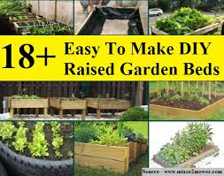 18 easy to make diy raised garden beds home and life tips