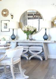 bassett dining room set mirrored dining room table base mirror above simple neutral