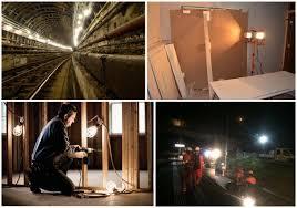 temporary job site lighting 100w 150w led temporary work lights temp construction lights job bulb