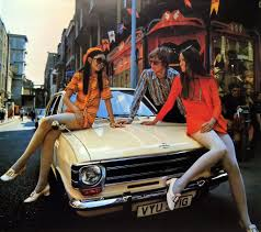 vintage opel car the groovy opel car calendar of 1970 flashbak