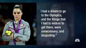 Gymnast Meme - olympic gymnast mckayla maroney says team doctor molested her at