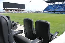 Stadium Bench Check Out Photos Of Avaya Stadium As San Jose Earthquakes Prepare