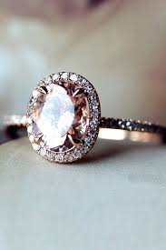 ring engaged best 25 pink engagement rings ideas on pink wedding