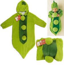 Pea Halloween Costume Baby Sleeping Bag Grean Pea Pod Boys Girls Fancy Dress