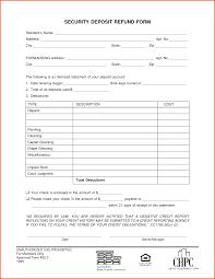 security deposit receipt template freevoice label design templates