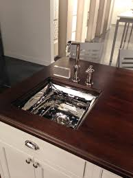 kallista kitchen faucets the bacifiore entertainment sink designed by mick de giulio with