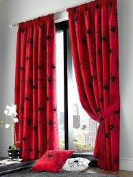 red bedroom curtains red curtains for bedroom red and brown curtains modern blackout