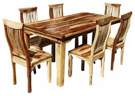 Dining Chairs Rustic Rustic Dining Room Tables And Chairs