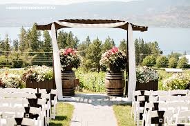 wedding arch kelowna desiree rob s kelowna summerhill winery wedding