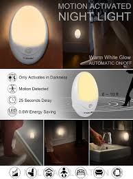 motion sensor night light plug in led night light motion activated night light emotionlite plug in