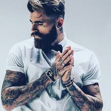 588 best manly men images on pinterest beard tattoo beard